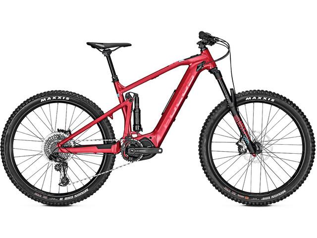 FOCUS Sam² 6.7 E-MTB fullsuspension rød (2019) | Mountainbikes